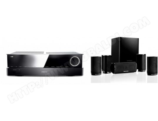 Ampli tuner audio vidéo HARMAN KARDON AVR171S + HKTS9BQ230