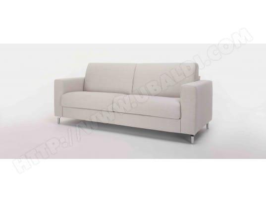 canap lit alterego divani step 3 pl beige blanc matelas 140 35kg m3 pas cher. Black Bedroom Furniture Sets. Home Design Ideas