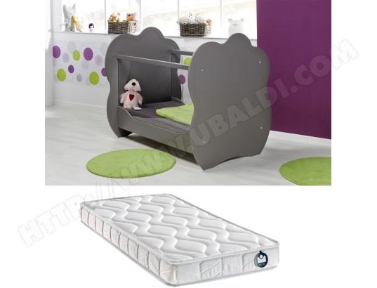 lit b b sofamo lit alt a taupe matelas bambin 60x120 pas cher. Black Bedroom Furniture Sets. Home Design Ideas