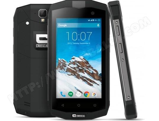 Smartphone CROSSCALL Trekker M1 noir
