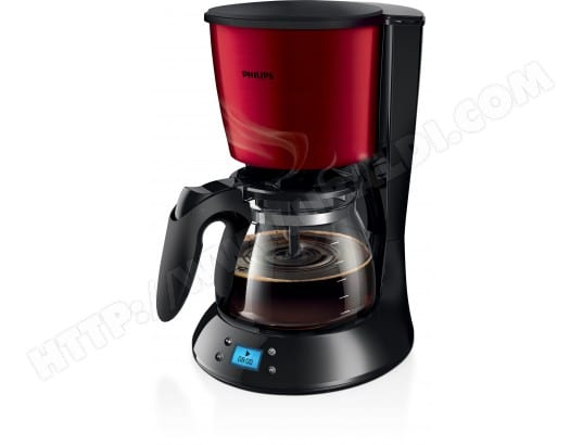Cafetière PHILIPS HD7459/61 Daily Rouge