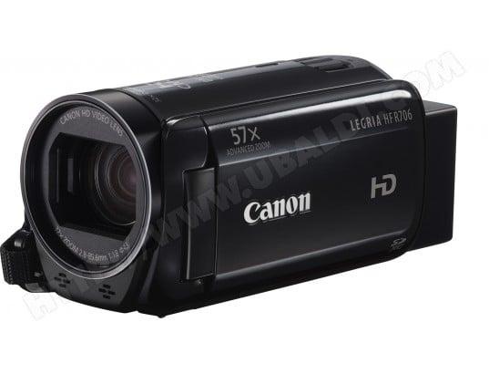 Caméscope carte mémoire CANON Legria HF R706 noir