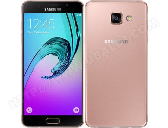 samsung galaxy a5 2016 rose 16 go pas cher. Black Bedroom Furniture Sets. Home Design Ideas