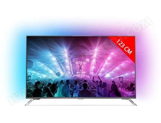 TV LED 4K 123 cm PHILIPS 49PUS7101/12