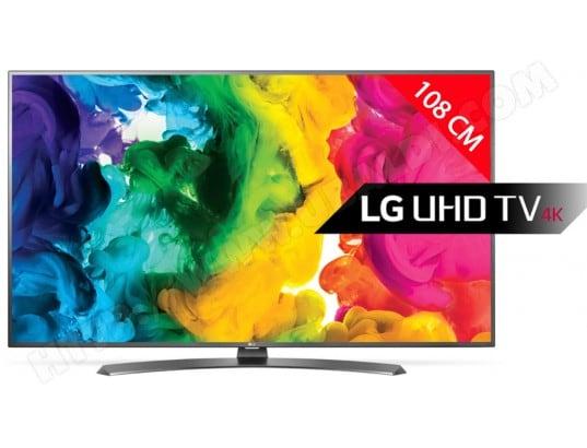 TV LED 4K 108 cm LG 43UH661V