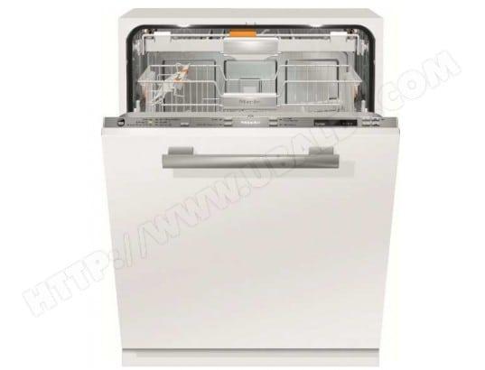Lave vaisselle tout integrable 60 cm MIELE G6860SCVI