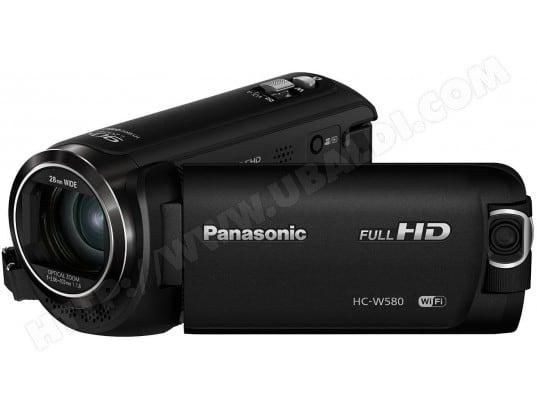 Caméscope carte mémoire PANASONIC HC-W580 noir
