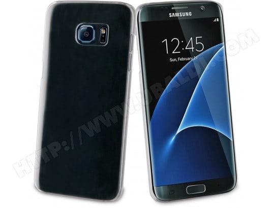 Coque smartphone MUVIT Coque Crystal transparente pour Galaxy S7 Edge