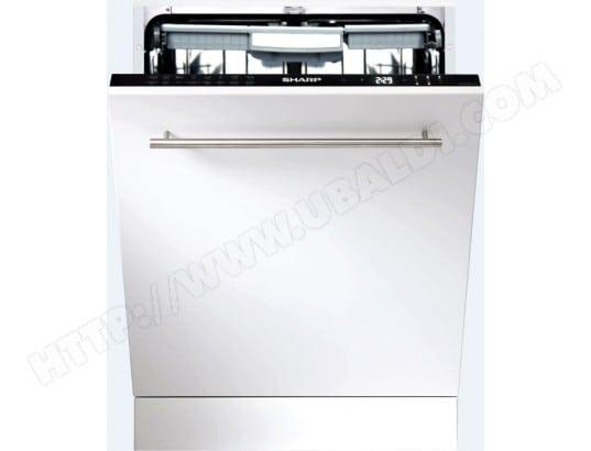 Lave vaisselle tout integrable 60 cm SHARP QWGD53I443X