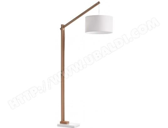 Lampadaire salon lf izar lampadaire blanc pas cher ubaldi com
