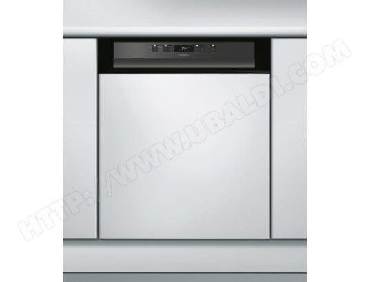 Lave vaisselle integrable 60 cm WHIRLPOOL WBC3C24PB