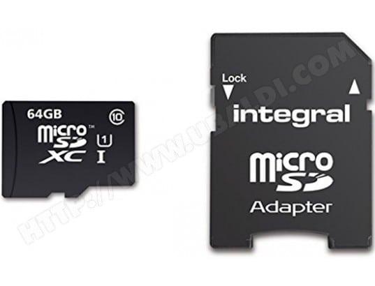 Carte mémoire 64 Go INTEGRAL UltimaPro Card Class 10 64 Go