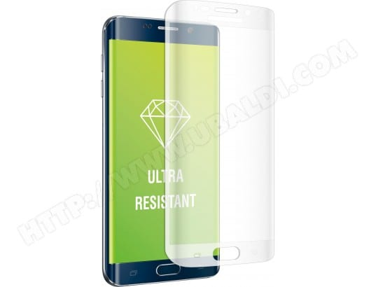 Film protection MUVIT Film verre trempé invurvé pour Galaxy S6 Edge Plus