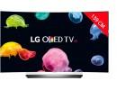 TV OLED 4K incurvé 3D 139 cm LG OLED55C6V