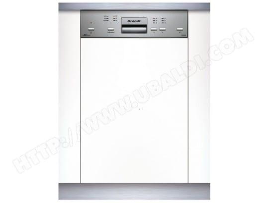 Lave vaisselle integrable 45 cm BRANDT VS1010X