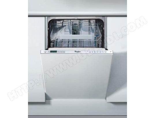 whirlpool adg402 lave vaisselle tout integrable 45 cm. Black Bedroom Furniture Sets. Home Design Ideas
