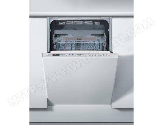 whirlpool adg522x lave vaisselle tout integrable 45 cm. Black Bedroom Furniture Sets. Home Design Ideas