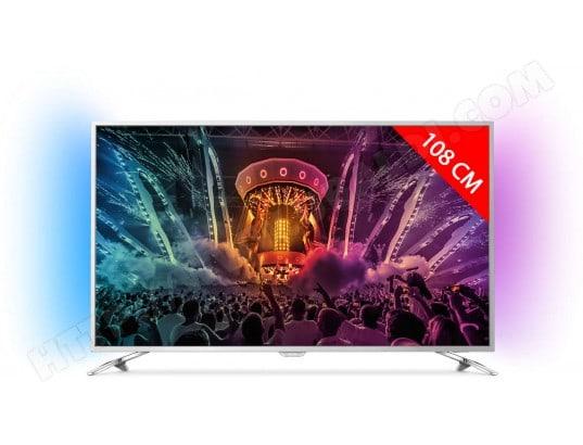 TV LED 4K 108 cm PHILIPS 43PUS6501/12