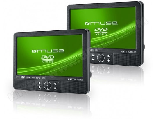 Lecteur DVD portable MUSE M 995 CVB