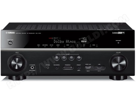Ampli tuner audio vidéo YAMAHA MusicCast RX-V781 Noir