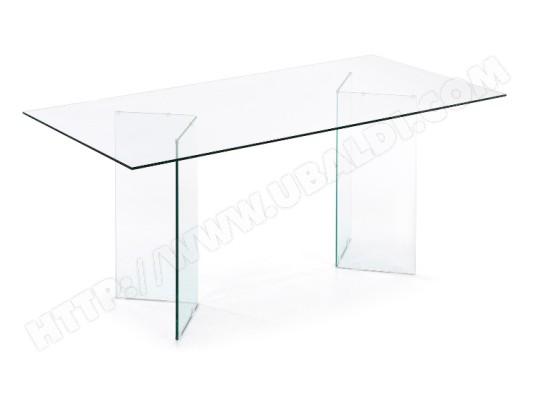 Burano 90 transparent LF de 180 verre salle x manger à Table KcJl1TF