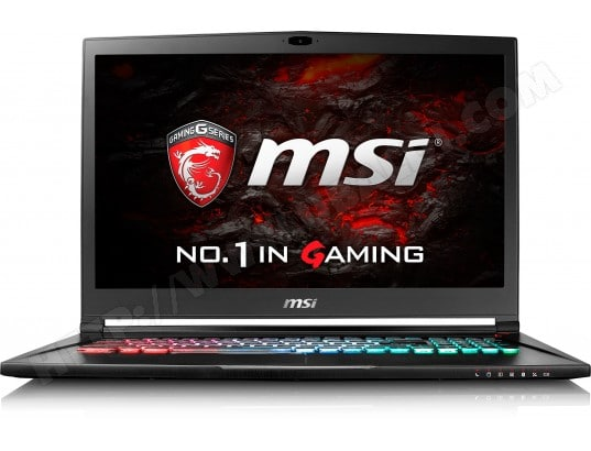 Ordinateur portable Gamer MSI GS73VR 6RF(Stealth Pro)-015FR