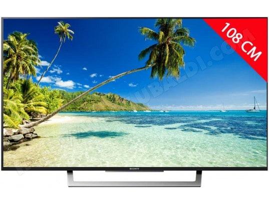 TV LED 4K 108 cm SONY KD43XD8005BAEP