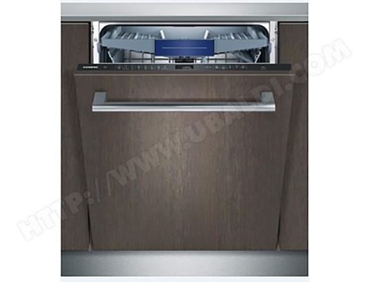 siemens sn658x00me lave vaisselle tout integrable 60 cm