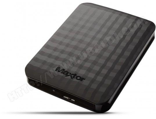 Disque dur externe MAXTOR M3 portable 500 Go noir - M