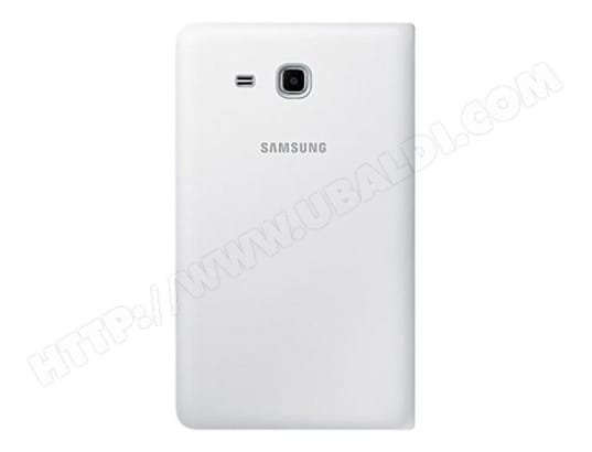 Etui tablette SAMSUNG Book Cover blanc pour Samsung Galaxy Tab A6 7''