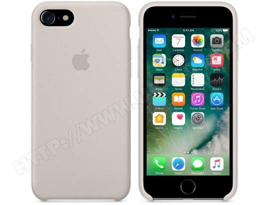 Coque iPhone APPLE iPhone 7 Silicone Case - Stone