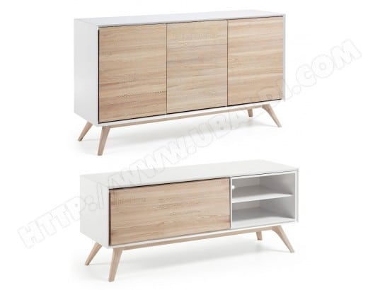 bahut lf ensemble quatre bahut meuble tv 1 porte pas cher. Black Bedroom Furniture Sets. Home Design Ideas