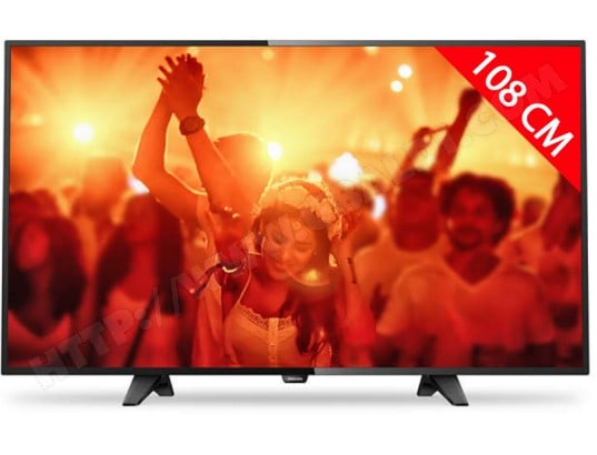 TV LED Full HD 108 cm PHILIPS 43PFT4131/12