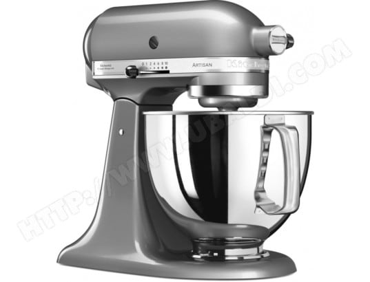 Robot culinaire KITCHENAID Artisan 5KSM125ECU Gris Argent