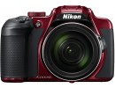 Appareil photo numérique bridge NIKON CoolPix B700 rouge