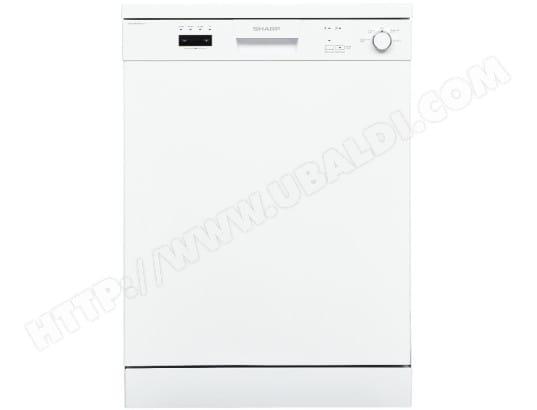 Lave vaisselle 60 cm SHARP QWC13F472W