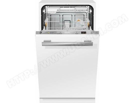 Lave vaisselle tout integrable 45 cm MIELE G4780SCVI