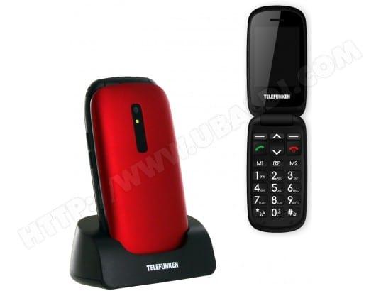 Mobile nu TELEFUNKEN TM220 Cosi rouge