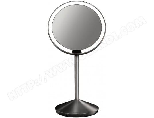 simplehuman st3004 miroir a capteur grossissant x10 pas cher miroir livraison gratuite. Black Bedroom Furniture Sets. Home Design Ideas