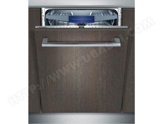 Lave vaisselle tout integrable SIEMENS SX736X03ME