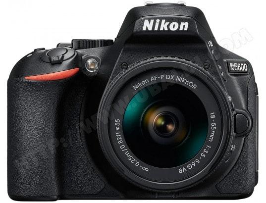 Appareil photo numérique reflex NIKON D5600 + 18-105mm VR