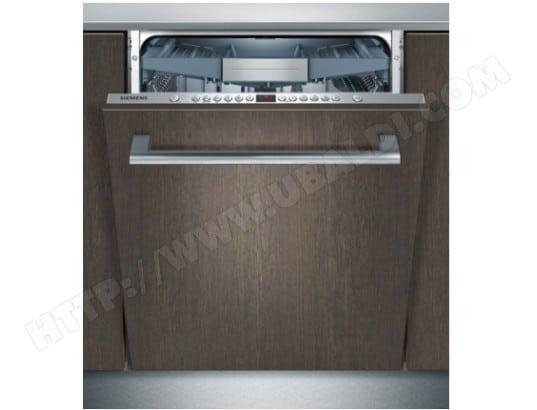 siemens sn66p093eu lave vaisselle tout integrable. Black Bedroom Furniture Sets. Home Design Ideas