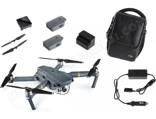 Drone DJI INNOVATION Mavic Pro Pack Fly more