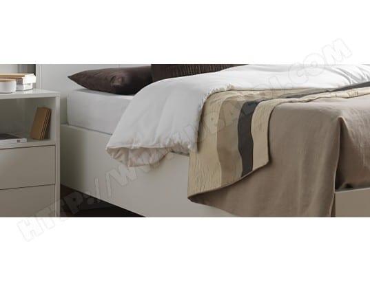 cadre de lit avm bora cadre 140x190 opaline pas cher. Black Bedroom Furniture Sets. Home Design Ideas