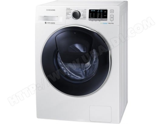 samsung wd80k5410ow pas cher lave linge sechant frontal samsung livraison gratuite. Black Bedroom Furniture Sets. Home Design Ideas