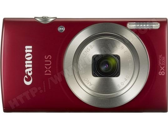 Appareil photo numérique compact CANON IXUS 185 rouge