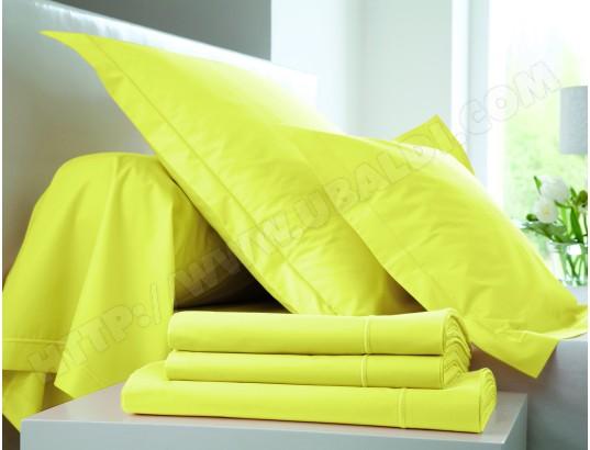 Parure de lit housse de couette HANS HDC 240x220 + DH 140 + 2 TO 57fils genêt