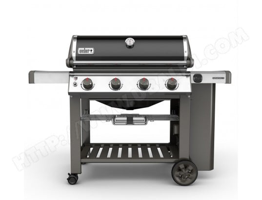 weber genesis ii e 410 gbs black pas cher barbecue gaz. Black Bedroom Furniture Sets. Home Design Ideas