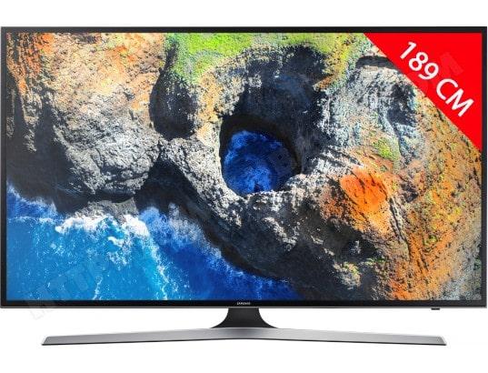 TV LED 4K 189 cm SAMSUNG UE75MU6105