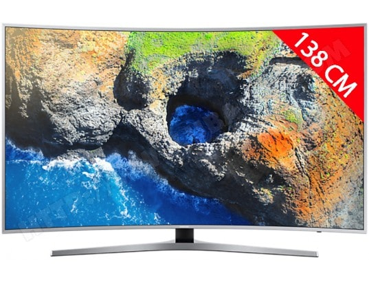 TV LED 4K incurvé 138 cm SAMSUNG UE55MU6505
